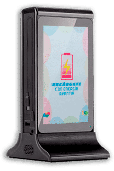 Cargador móvil bar