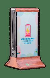 Cargador de smartphones para eventos y congresos