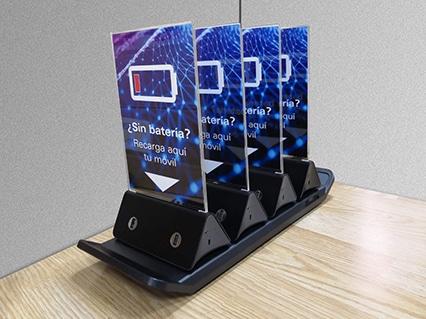 Cargador de celular para bar