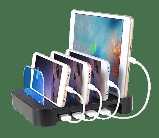 Estaciones de carga para móviles