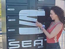 Armário de carga para móveis