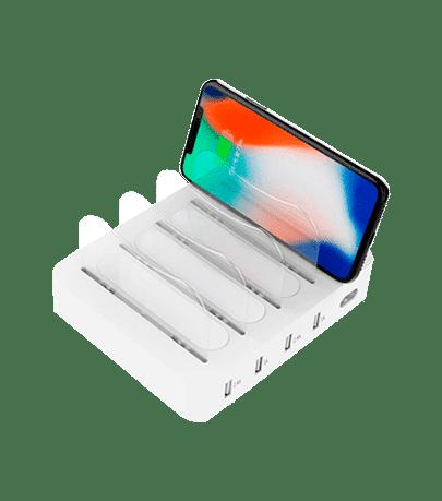 Bases de carga para móviles